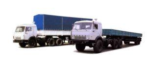 Полуприцеп бортовой НефАЗ-9334