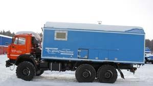Мастерская передвижная КАМАЗ УСТ 54535 А