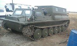 гусяничный тягач ГАЗ-34037-11П