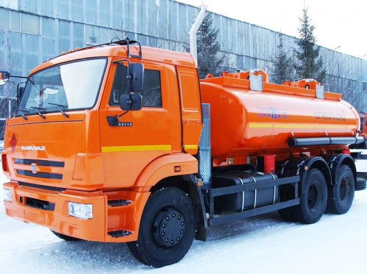 топливозаправщик КАМАЗ 6606