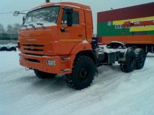 тягач седельный КАМАЗ 44108